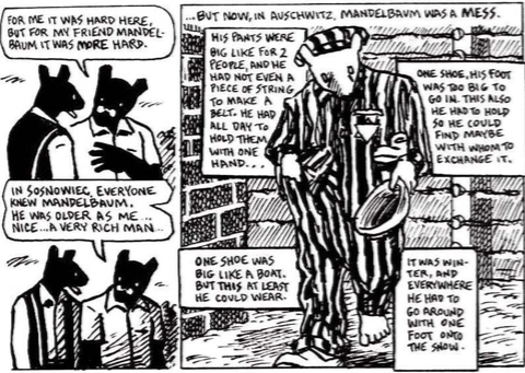 a review of maus a graphic novel by art spiegelman Maus (volumes i and ii) by art spiegelman published by pantheon books genre: graphic novel/biography pages: for some reason, i find it much harder to write a review on these two graphic novels.