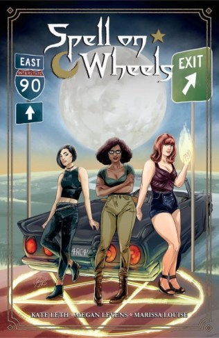 https://bookspoils.wordpress.com/2017/03/22/review-spell-on-wheels-vol-1-by-kate-leth/