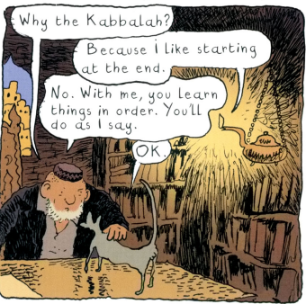 The Rabbi's Cat 1-- bookspoils