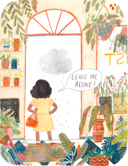 Ivy and the Lonely Raincloud 2-- bookspoils