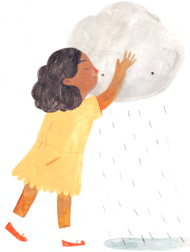 Ivy and the Lonely Raincloud 3-- bookspoils