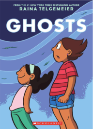 https://bookspoils.wordpress.com/2018/01/07/review-ghosts-by-raina-telgemeier/