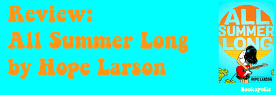 Review: All Summer Long by HopeLarson