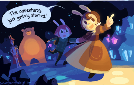 cucumber quest 1-- bookspoils