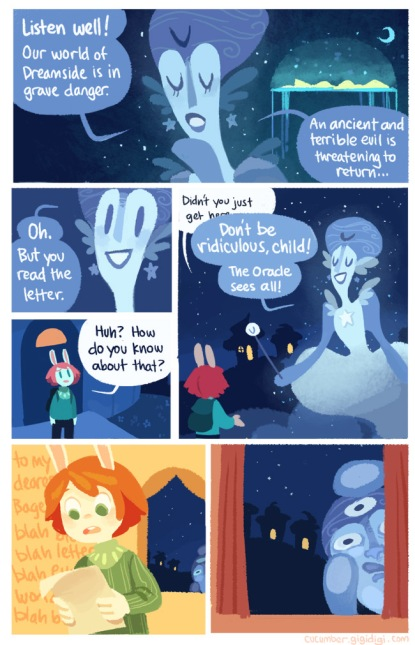 cucumber quest 2-- bookspoils