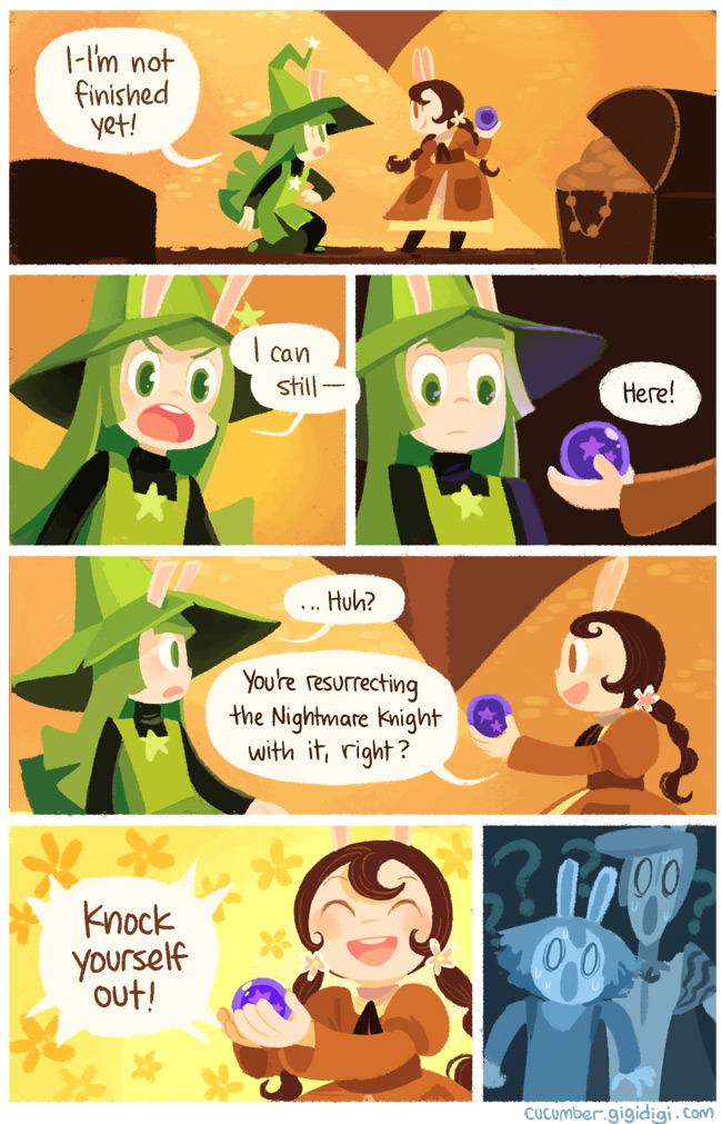 cucumber quest 7-- bookspoils